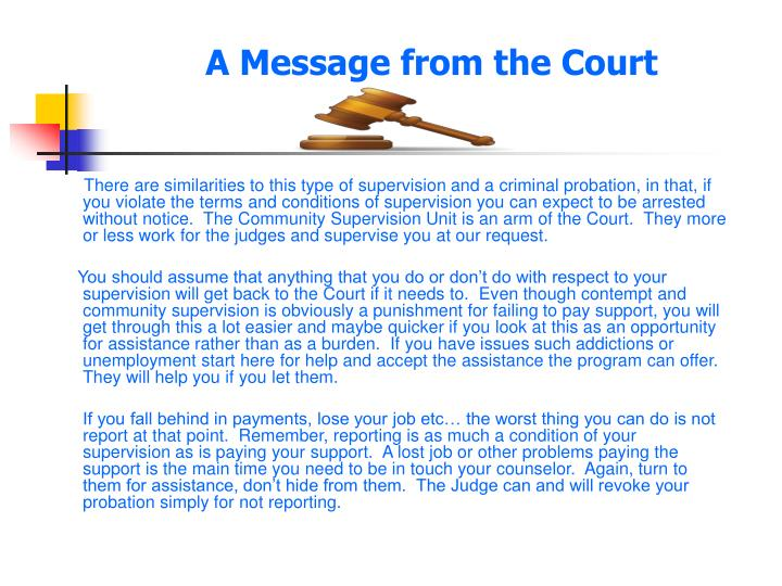 A message from the court l.jpg