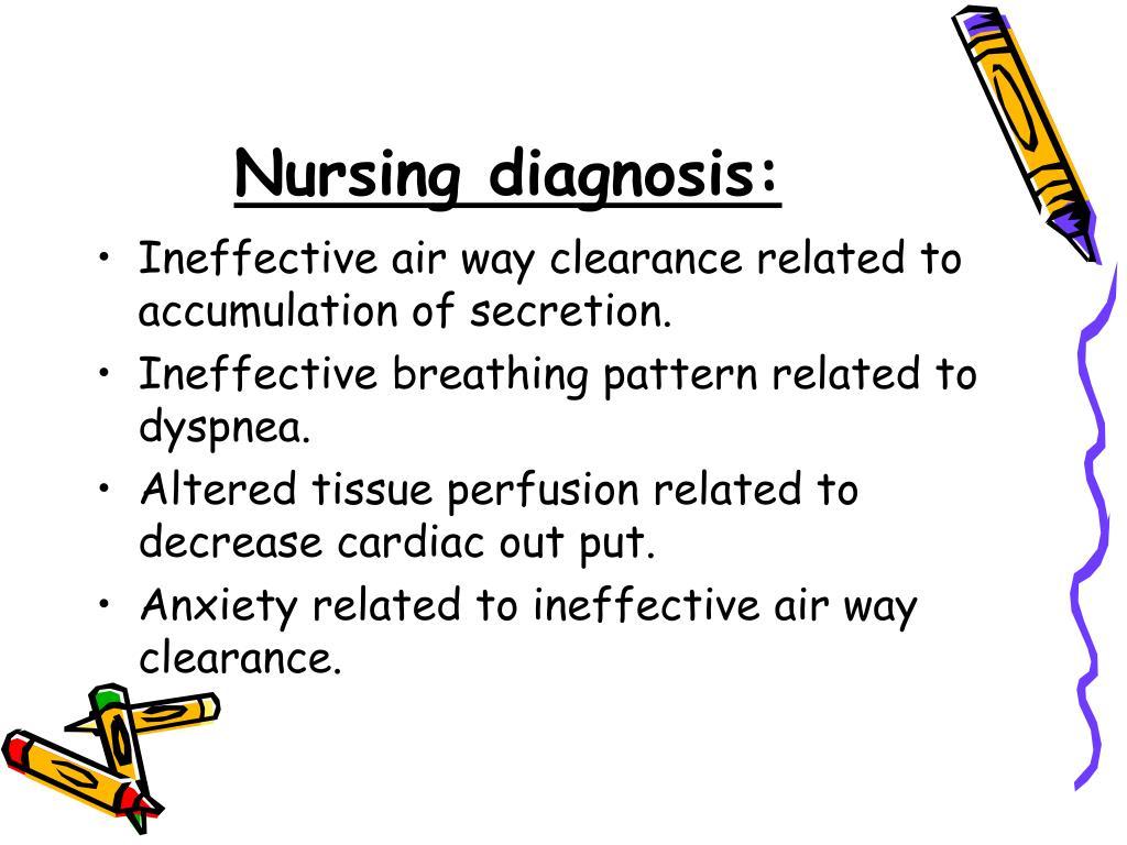 Nursing diagnosis: