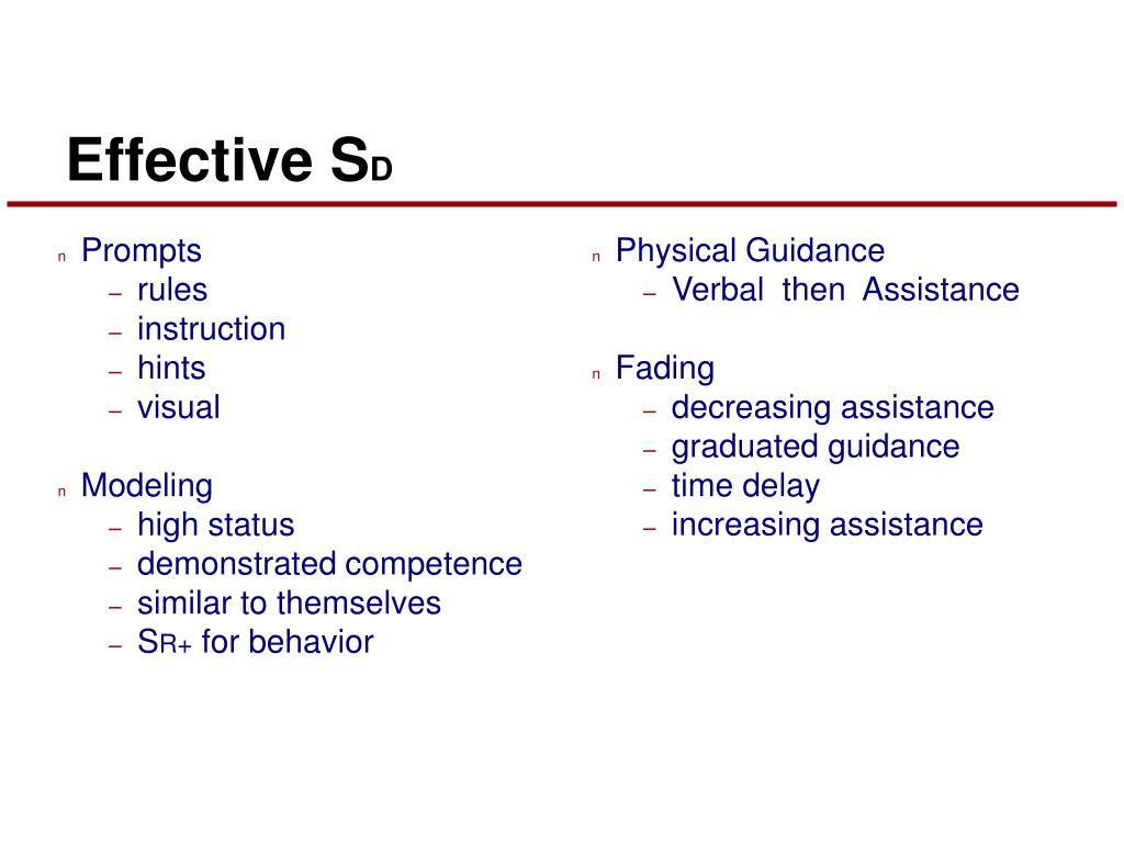 Effective S