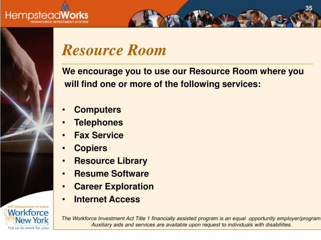Resource Room