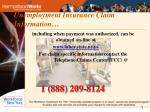 unemployment insurance claim information
