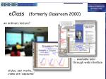 eclass formerly classroom 2000