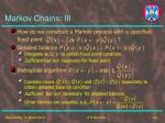markov chains iii