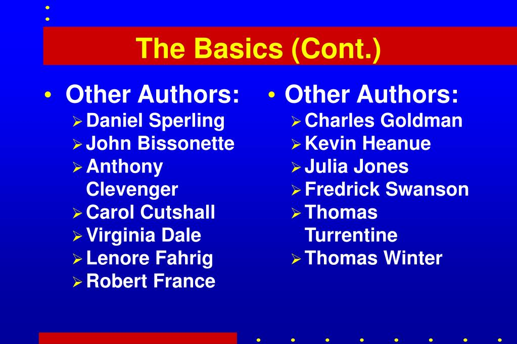Other Authors: