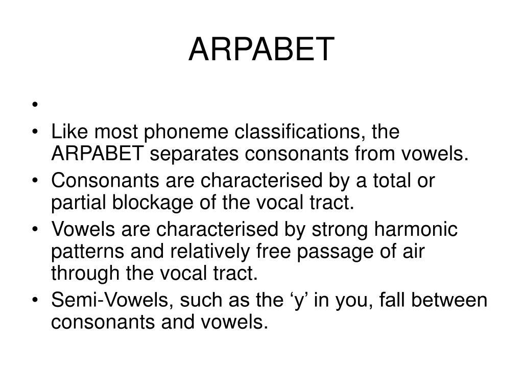 ARPABET