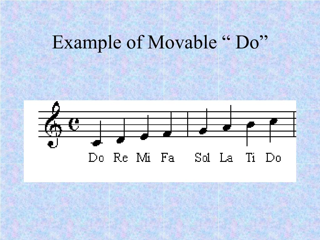 "Example of Movable "" Do"""