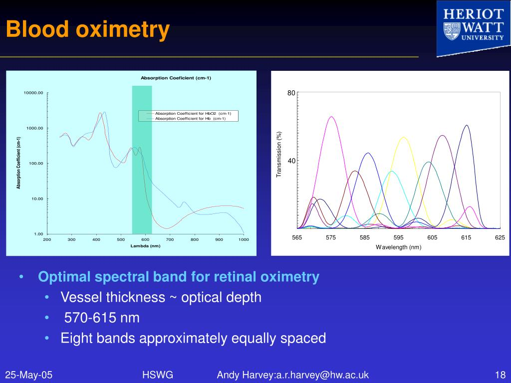 Blood oximetry