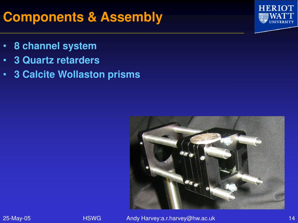 Components & Assembly