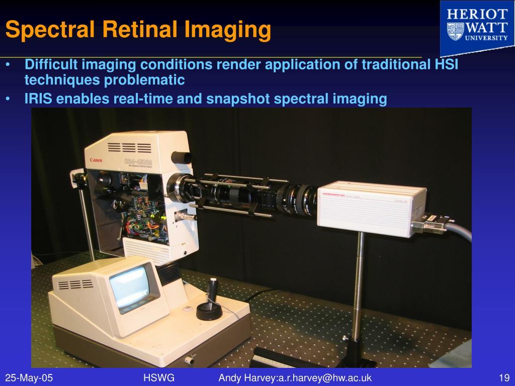 Spectral Retinal Imaging