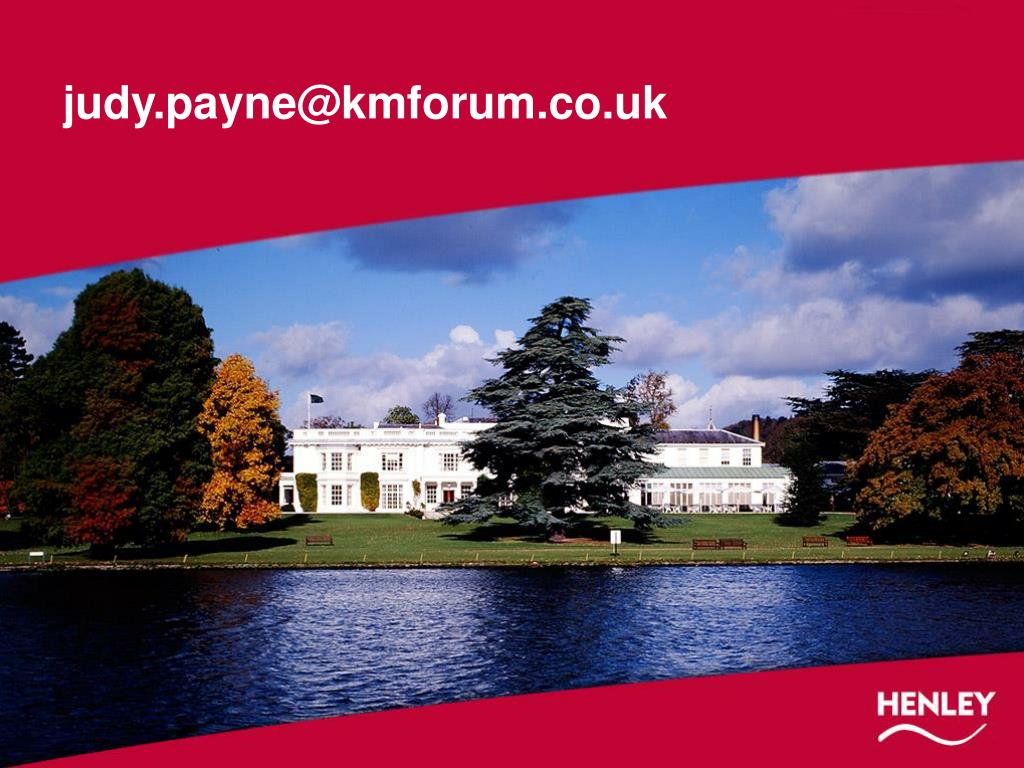 judy.payne@kmforum.co.uk