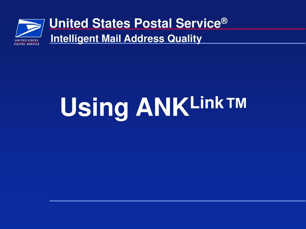 Using ANK