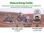 waste to energy facility