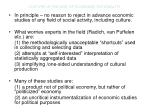 culture in the age of economic rationality11
