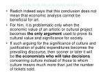 culture in the age of economic rationality14