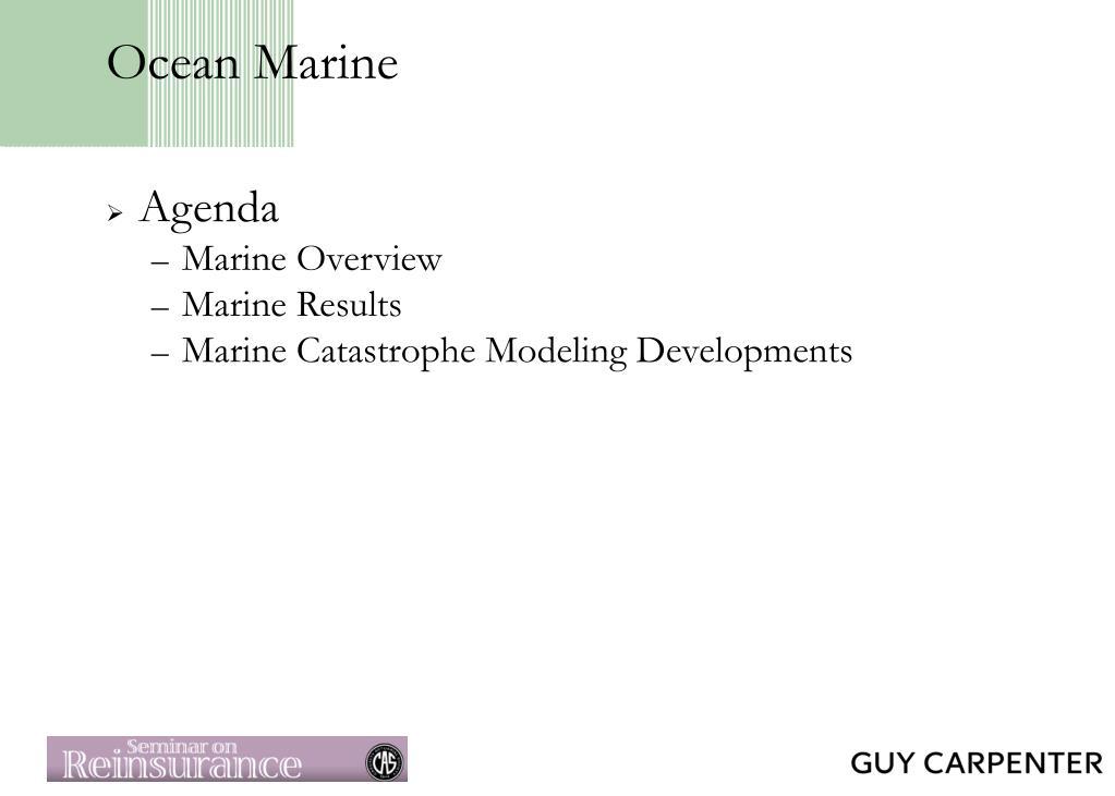 Ocean Marine