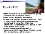 about narp