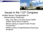issues in the 112 th congress