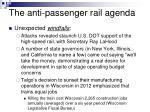 the anti passenger rail agenda13