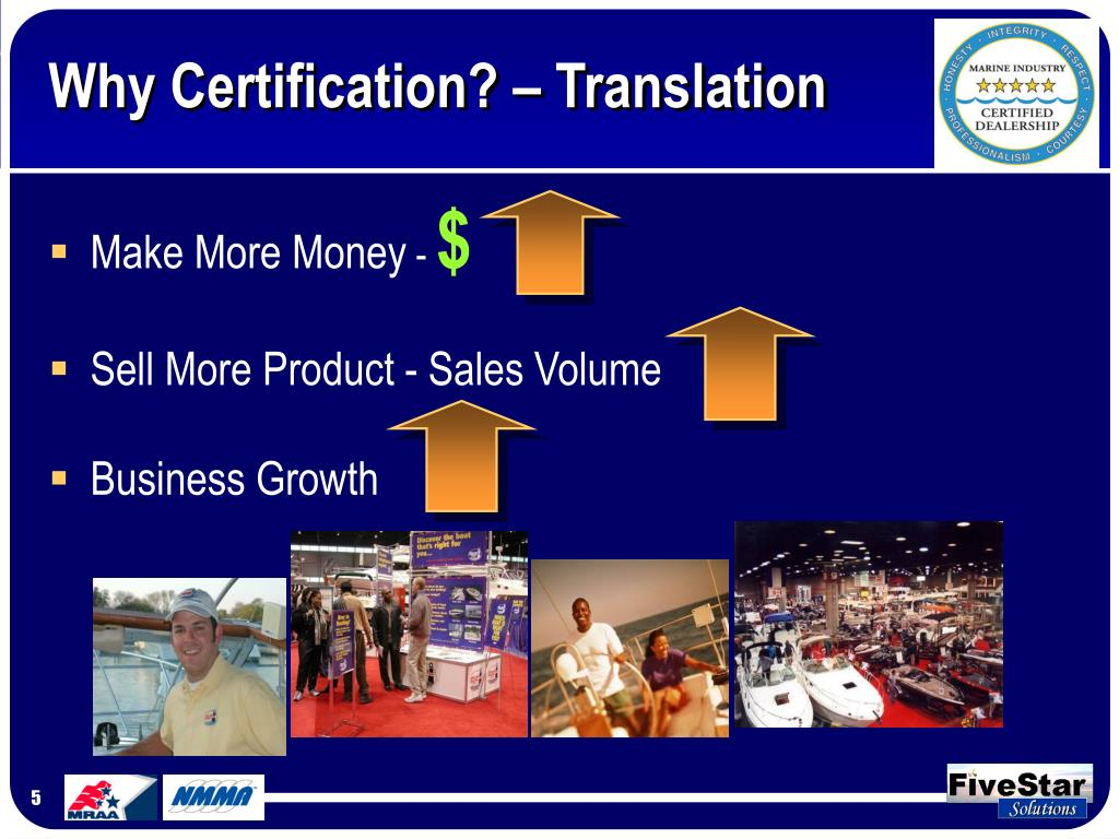Why Certification? – Translation
