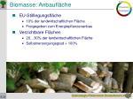 biomasse anbaufl che