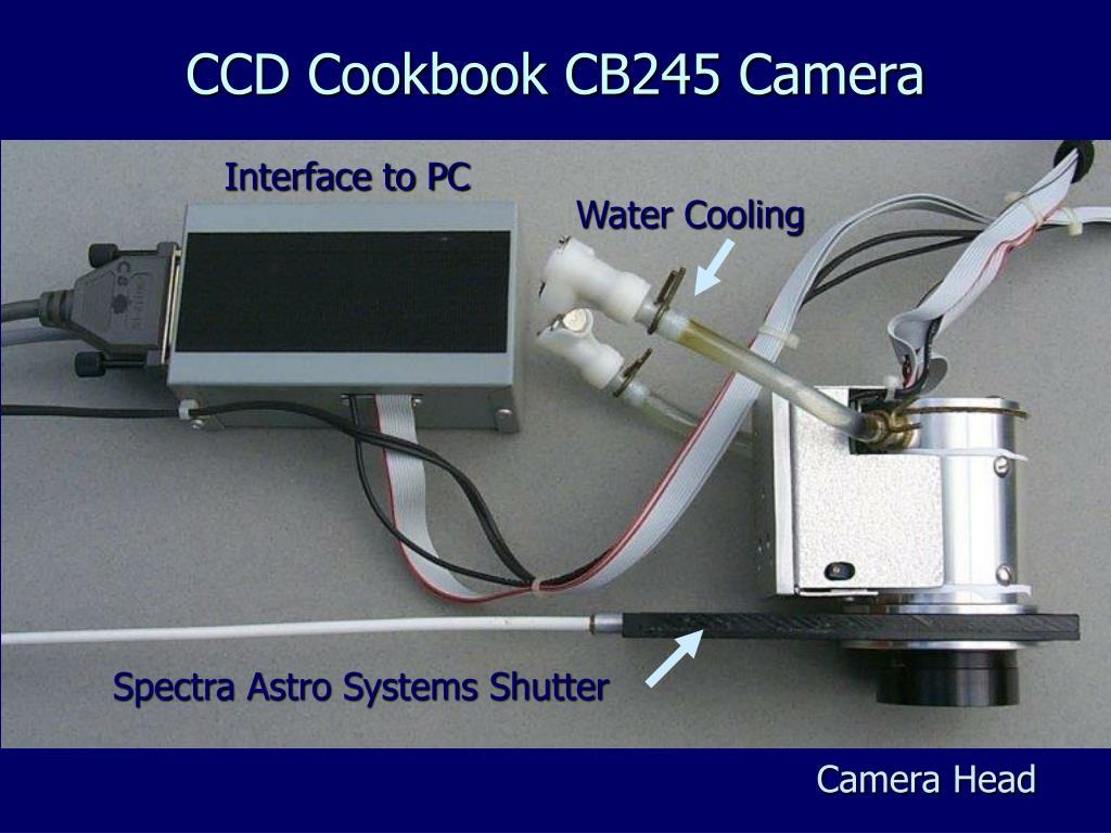 CCD Cookbook CB245 Camera