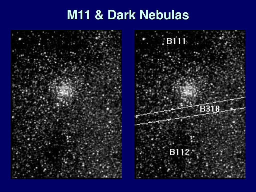 M11 & Dark Nebulas