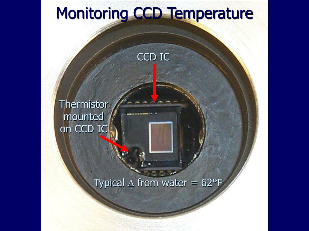 Monitoring CCD Temperature