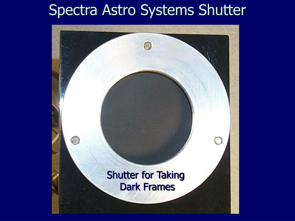Spectra Astro Systems Shutter