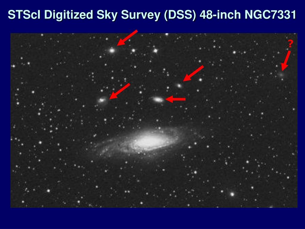 STScI Digitized Sky Survey (DSS) 48-inch NGC7331