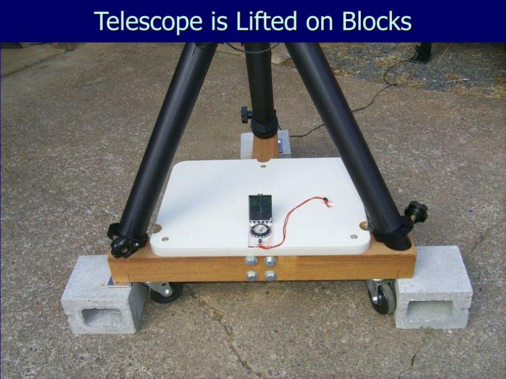 Telescope is Lifted on Blocks