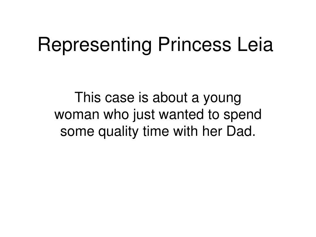 Representing Princess Leia