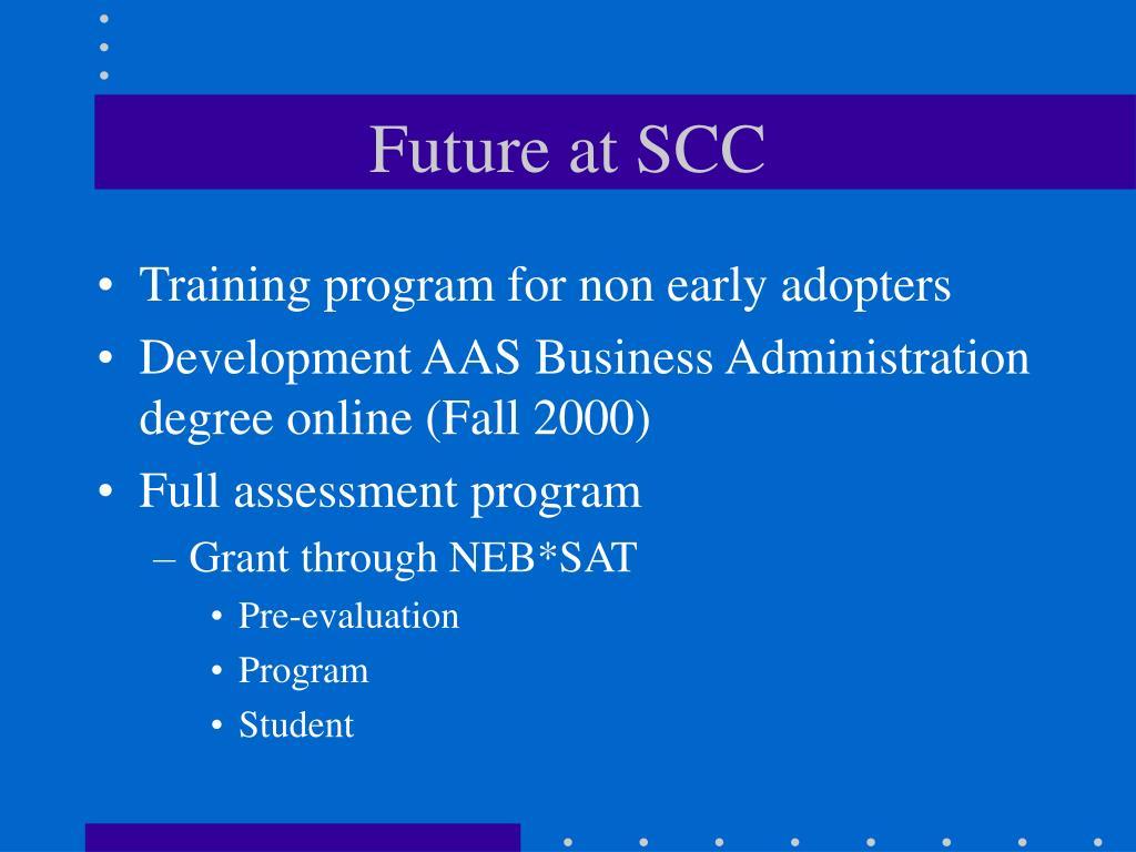 Future at SCC