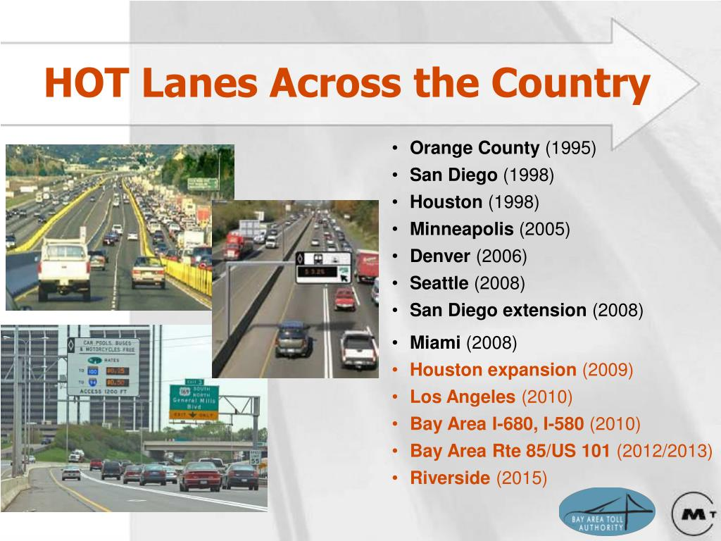 HOT Lanes Across the Country