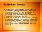 reflection process
