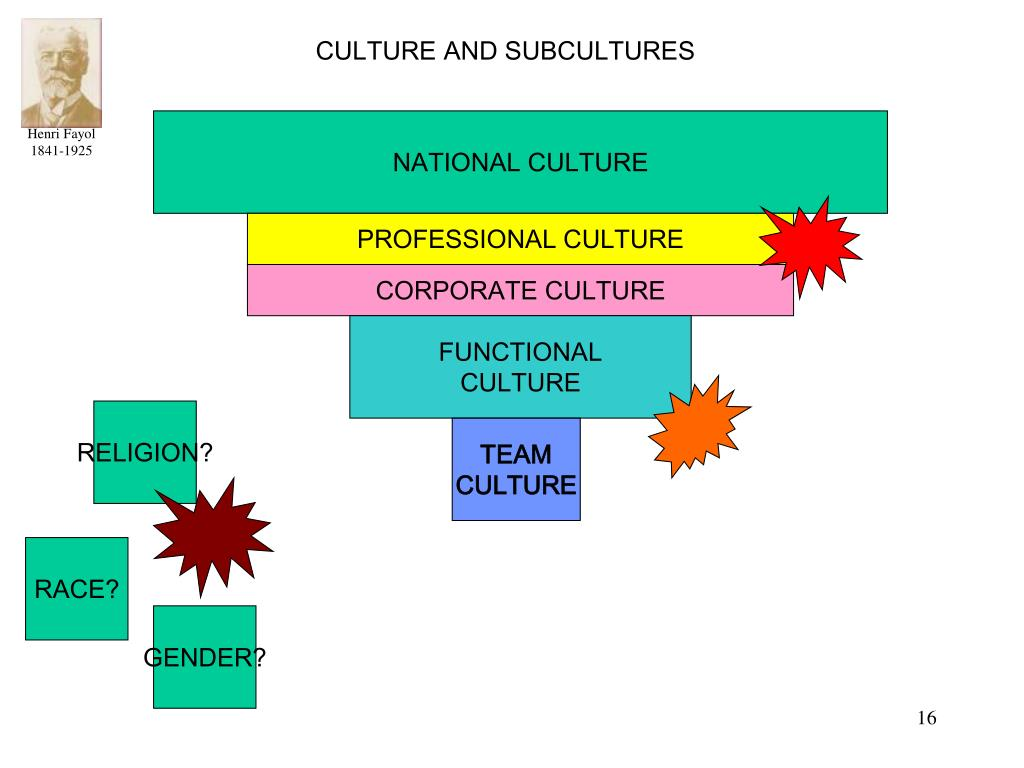 CULTURE AND SUBCULTURES