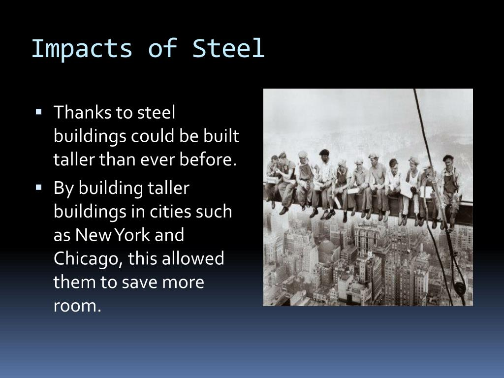 Impacts of Steel