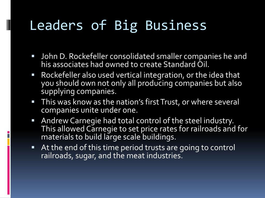 Leaders of Big Business