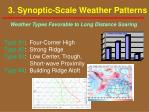 3 synoptic scale weather patterns