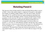 rotating panel 2