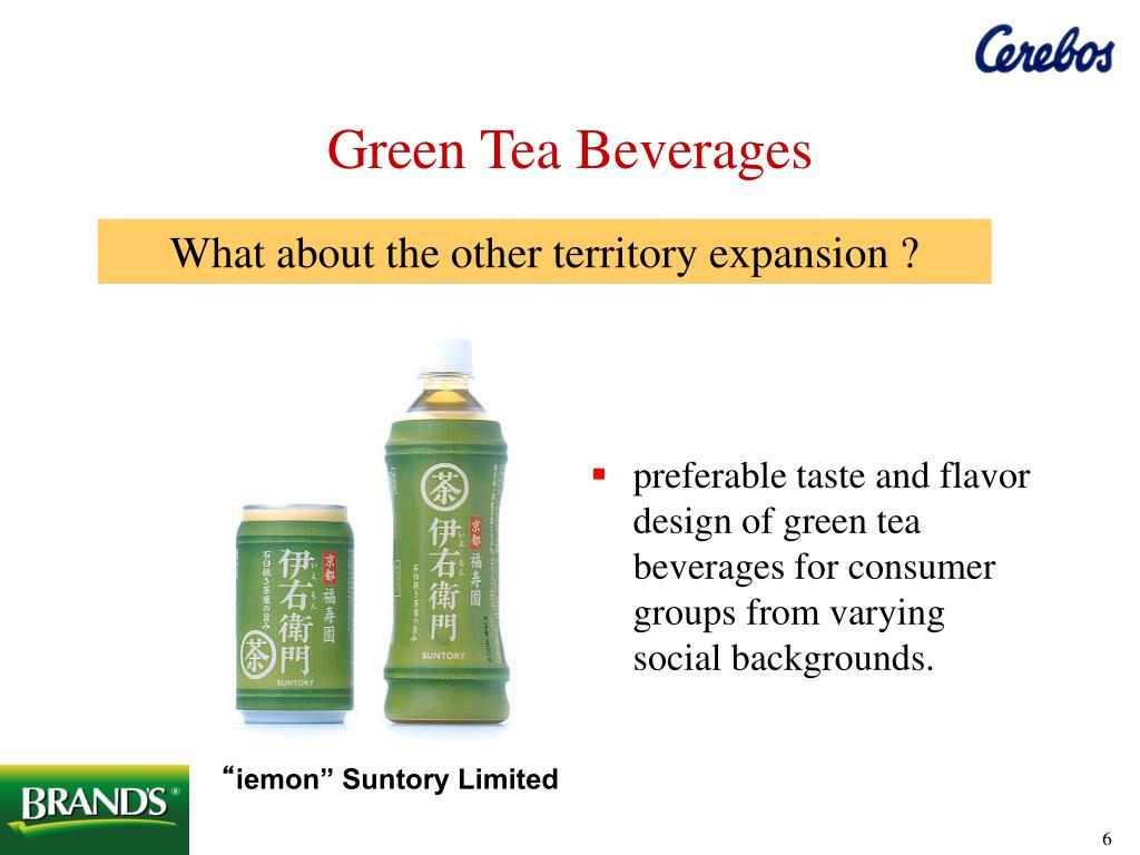 Green Tea Beverages