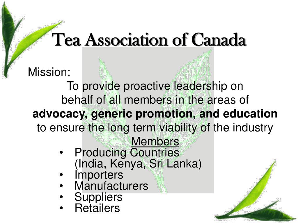 Tea Association of Canada