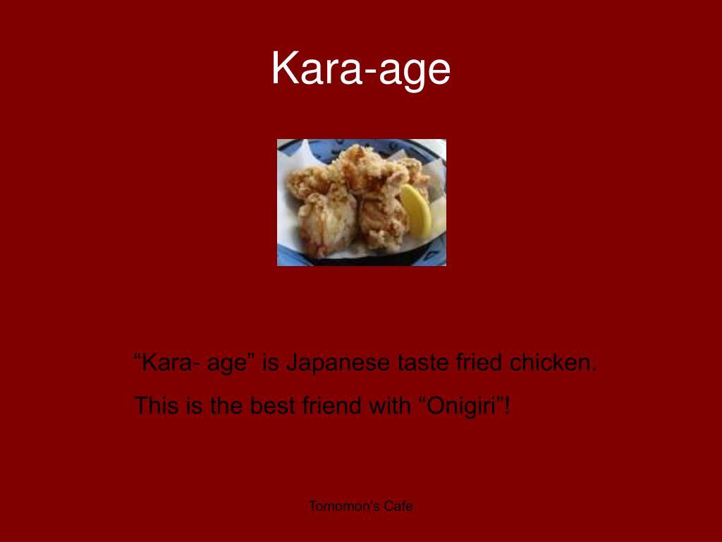 Kara-age