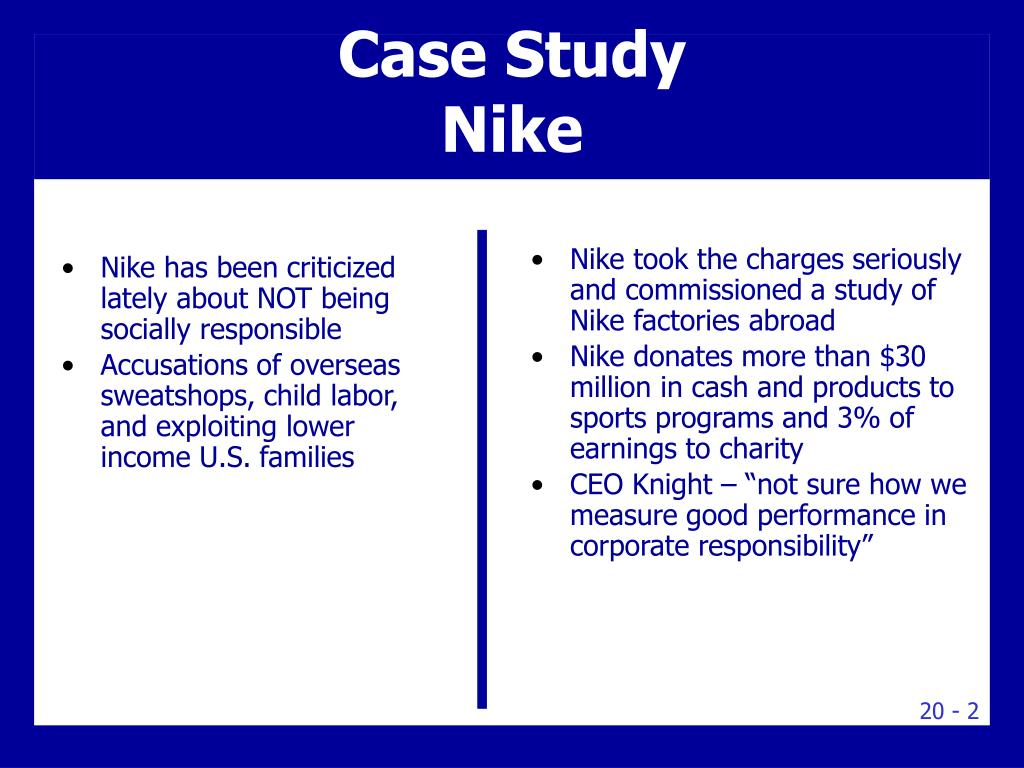 A Marketing Case Study on Nike