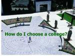 how do i choose a college