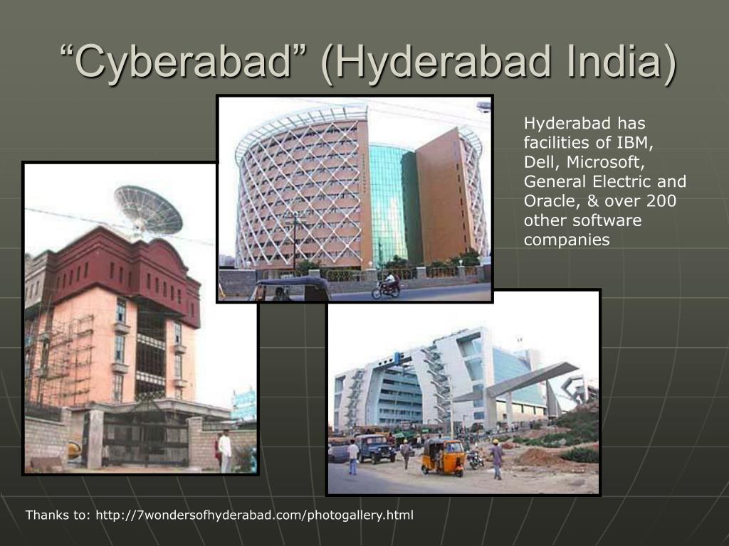 """Cyberabad"" (Hyderabad India)"