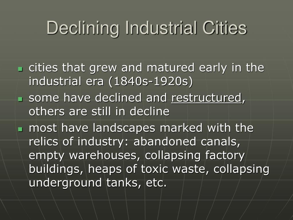 Declining Industrial Cities