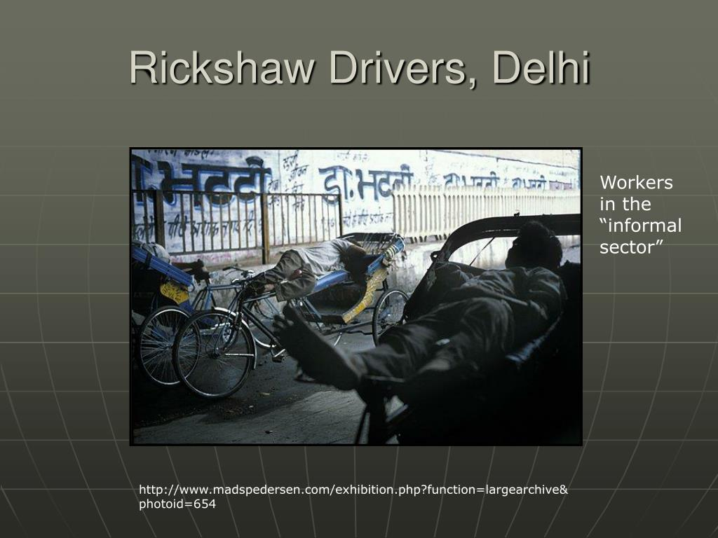 Rickshaw Drivers, Delhi