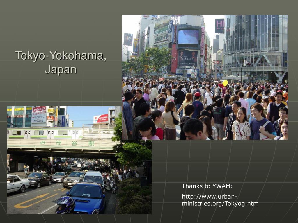 Tokyo-Yokohama, Japan