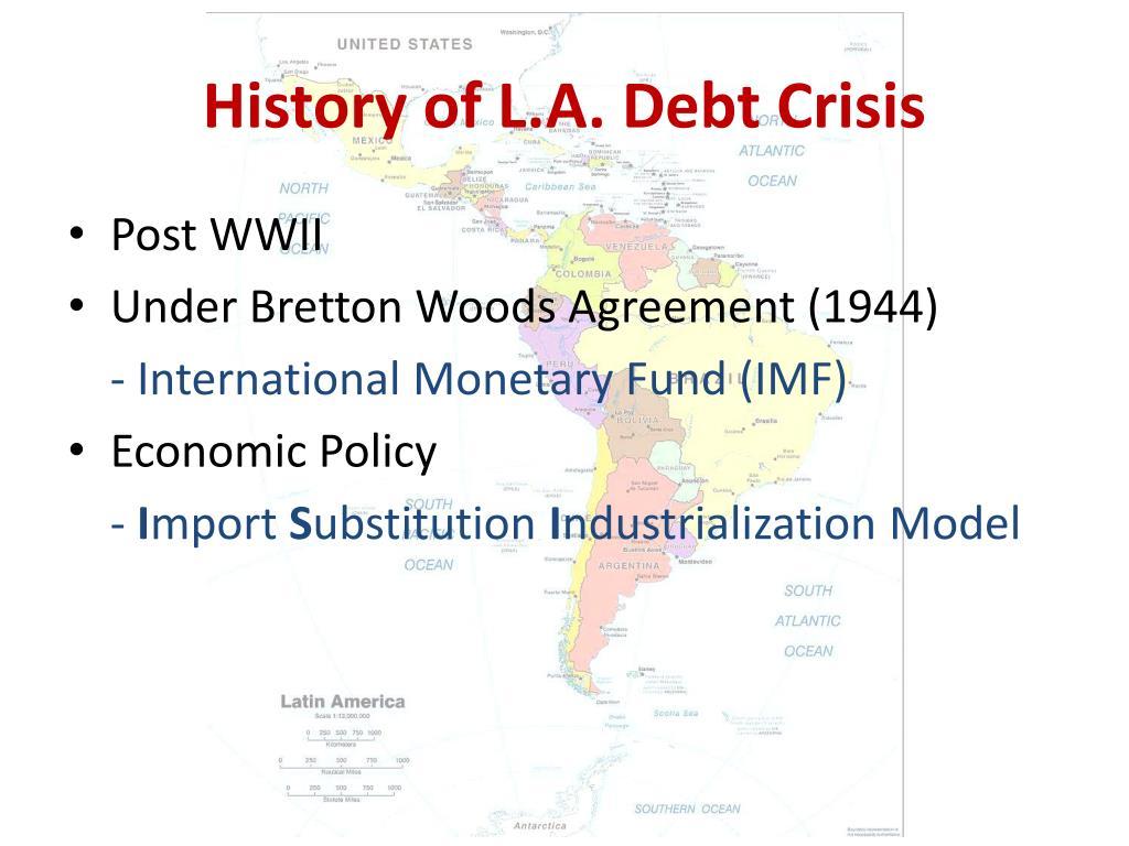 History of L.A. Debt Crisis