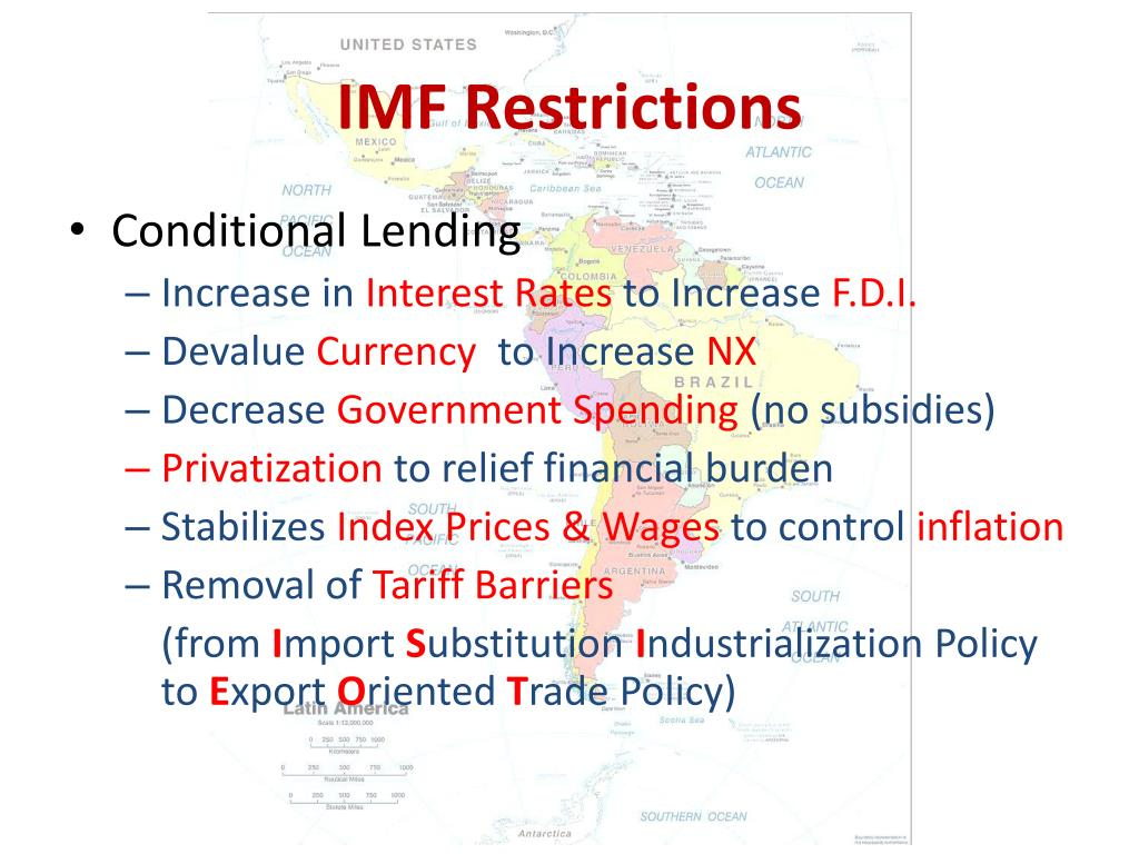 IMF Restrictions
